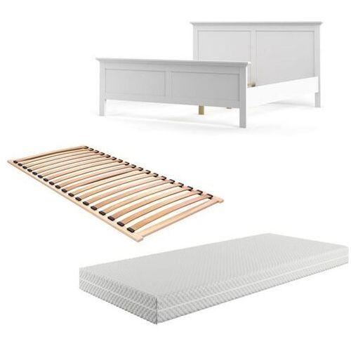 Zestaw łóżko paris 160x200 cm marki Tvilum