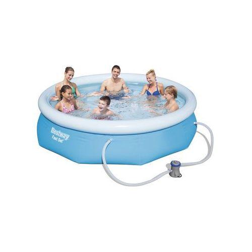 Bestway Fast Set 57272 Framed/inflatable pool Runda 3178L Niebieski basen zewnętrzny naziemny