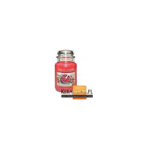 Yankee candle świeca duża red raspberry 623 g