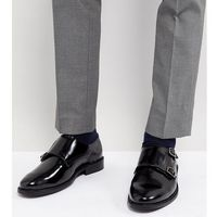 wide fit monk shoes in black leather - black marki Dune