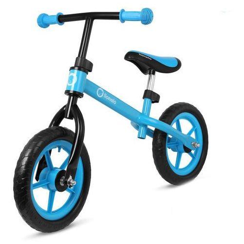 Rowerek biegowy Lionelo Fin niebieski + PUZZLE