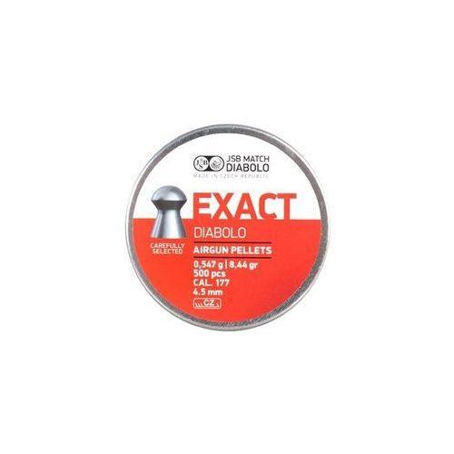 Jsb Śrut 4,51 mm exact 500 szt. + darmowy zwrot (ex451)