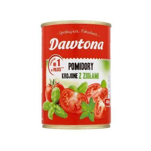 Pomidory krojone z ziołami 400 g Dawtona (5901713000248)