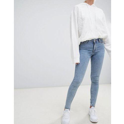body super stretch skinny jeans in florida blue - blue, Weekday