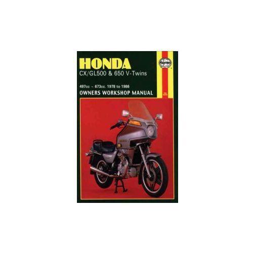 Honda CX/GL500 and 650 V-Twins 1978-86 Owner's Workshop Manu
