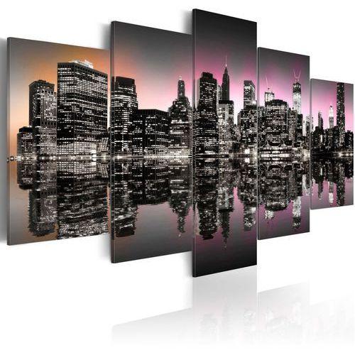 Obraz - Miasto, które nigdy nie zasypia - NYC - 5 części