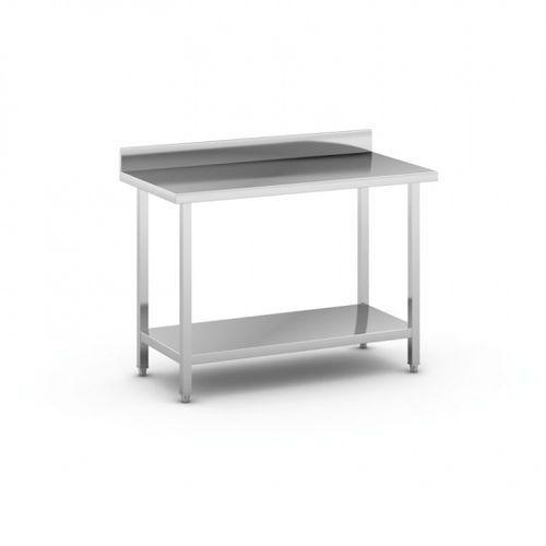 Stół roboczy ze stali nierdzewnej z półką, 1200 x 600 x 850 mm