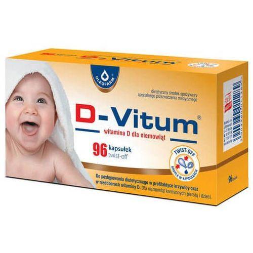 Kapsułki D-Vitum Witamina D dla niemowląt x 96 kapsułek twist-off