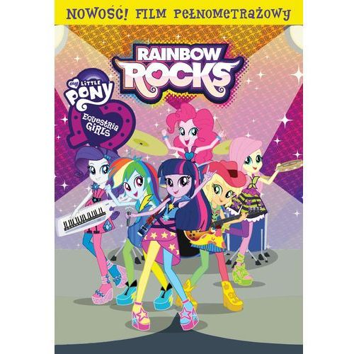 My Little Pony. Equestria Girls. Rainbow Rocks. Część 2 [DVD] (7321997810438)