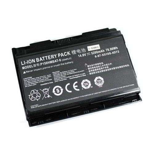 Dodatkowa bateria p150em/p150sm 8-cell 76.96wh marki Clevo