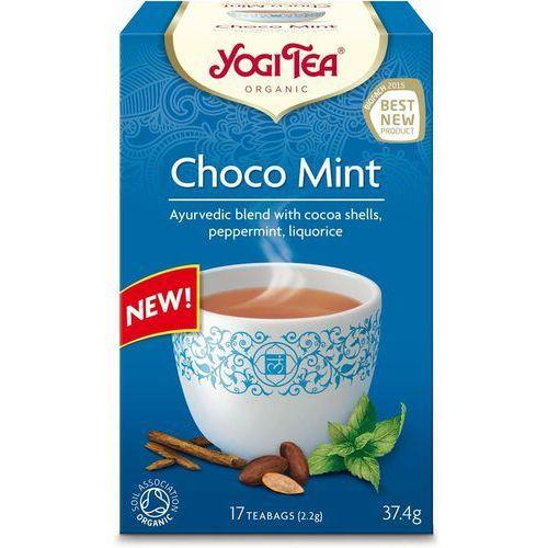 Herbata Ekspresowa Choco Mint z Kakao i Miętą BIO (Yogi Tea) 17 saszetek po 1,8g (4012824402850)