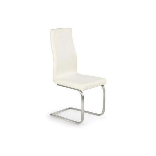 K140 nowoczesne krzesło białe / Gwarancja 24m / NAJTAŃSZA WYSYŁKA!