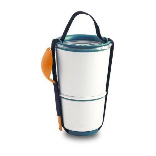 Pojemnik na lunch Lunch Pot pomarańczowo-niebieski
