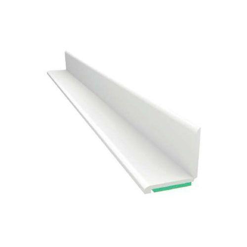 Kątownik biały z pianką samoprzylepną jednostronny 15x15mm L=50mb