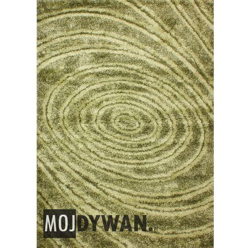Dywanstyl.pl Dywan turbo circle ciemno/jasno zielony 060x100 prostokąt, kategoria: dywany