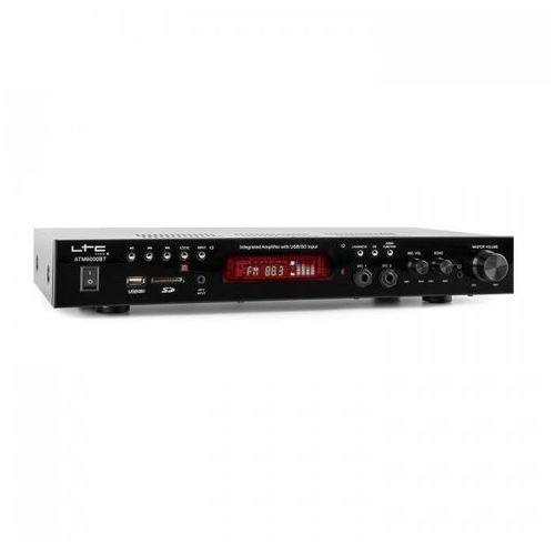Ltc atm6000bt wzmacniacz hi-fi stereo 2 x 50w bluetooth usb sd mp3 ukf (5420047126337)