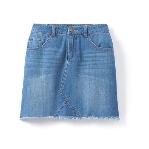 Spódnica z dżinsu bez obrębka 10-16 lat