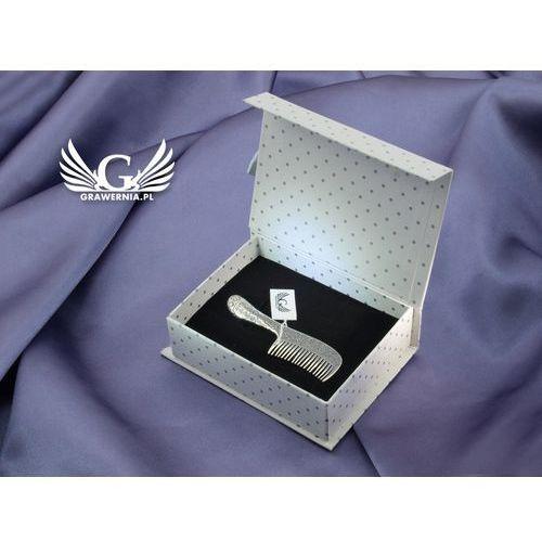 - Grzebień srebrny g3 pamiątka chrztu świętego