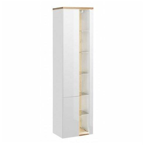 Słupek łazienkowy z oświetleniem LED Monako 3X - Biały połysk, BAHAMA-WHITE-800