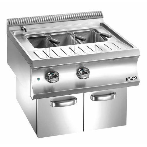 Urządzenie do gotowania makaronu i pierogów elektryczne z szafką  linia domina 700   40l   9000w   700x730x(h)580 mm marki Mbm