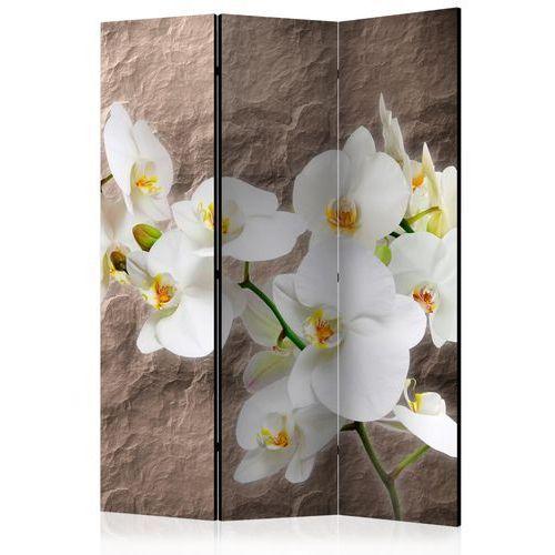 Parawan 3-częściowy - nieskazitelność orchidei [parawan] marki Artgeist
