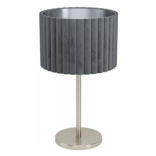 Eglo tamaresco 39775 lampa stołowa lampka 1x40w e27 nikiel/szara (9002759397753)