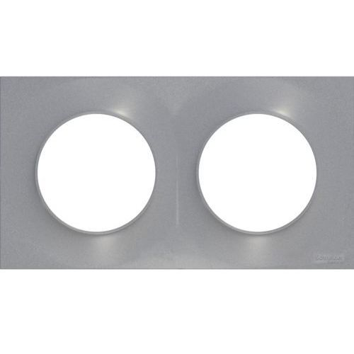 Schneider electric Ramka odace aluminium (3606480545672)