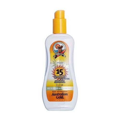 Australian gold spf 15 spray gel | spray do opalania 237ml