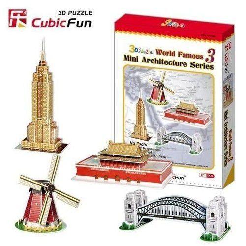 Cubic Fun, puzzle 3D Mini architektura, seria 3, 6944588200862_826650_001