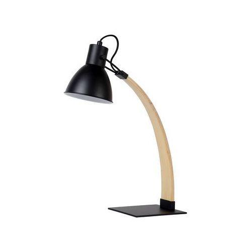 03613/01/30 - lampa stołowa curf 1xe27/60w/230v czarna marki Lucide
