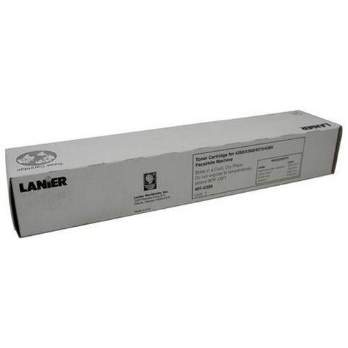 Lanier Wyprzedaż oryginał toner 491-0309, do lanier lanierfax lf4350 lf4360 lf4375 lf4385, 3000 stron, czarny black