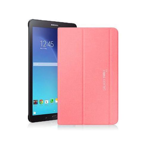 Różowe Etui typu Book Cover Samsung Galaxy Tab E 6.9 - Różowy