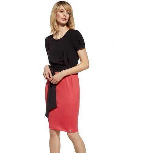 Ennywear 230048 sukienka PROMO, kolor czerwony