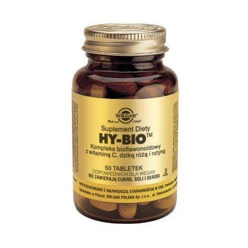 Hy-Bio Kompleks bioflawonoidowy z witaminą C, dziką różą i rutyną 50 tbl.