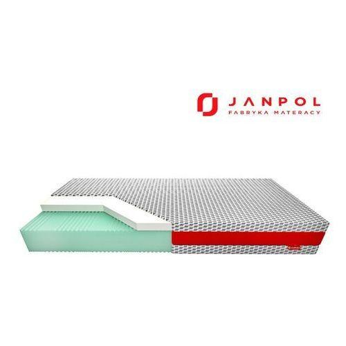 Janpol pulse elegant - materac lateksowy, piankowy, rozmiar - 200x190, pokrowiec - biox wyprzedaż, wysyłka gratis, 603-671-572