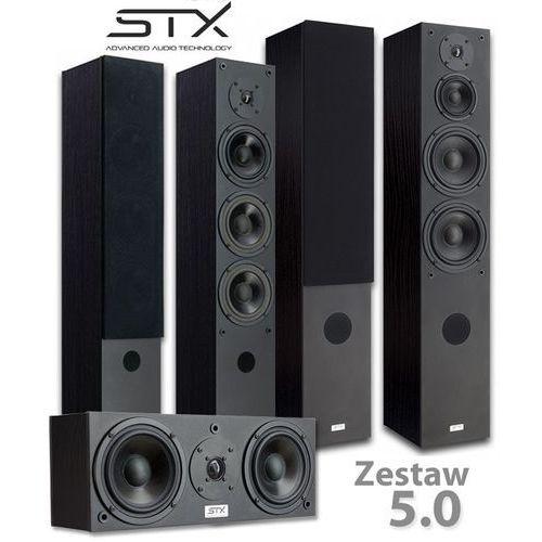 Zestaw kolumn kina domowego STX 5.0 - F-200n, F-140n, C-200n (5902633884925)