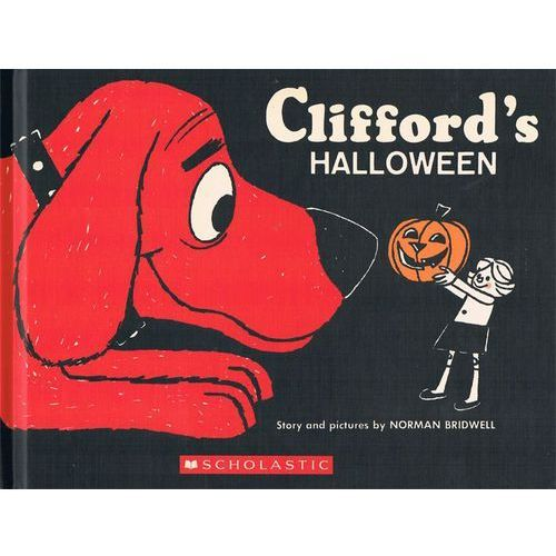 Clifford's Halloween: Vintage Hardcover Edition (9781338188318)