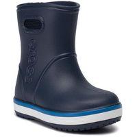 Kalosze - crocband rain boot k 205827 navy/bright cobalt marki Crocs