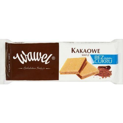 110g kakaowe wafle bez dodatku cukru | darmowa dostawa od 150 zł! marki Wawel