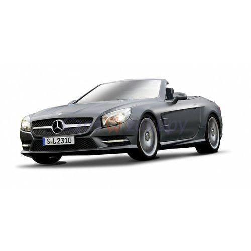 Maisto  2012 mercedes-benz sl 500 convertible - grafitowy 1/18