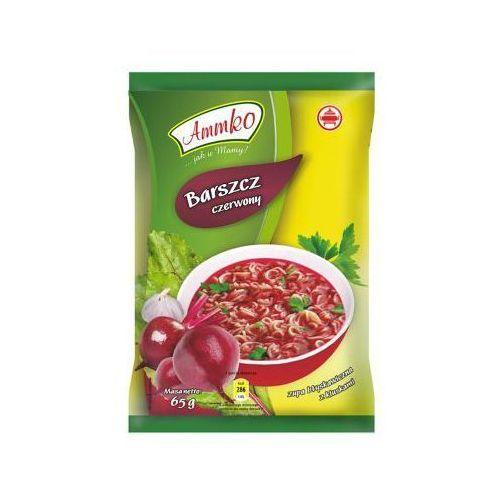 Zupa błyskawiczna Barszcz czerwony z kluskami 65 g Ammko