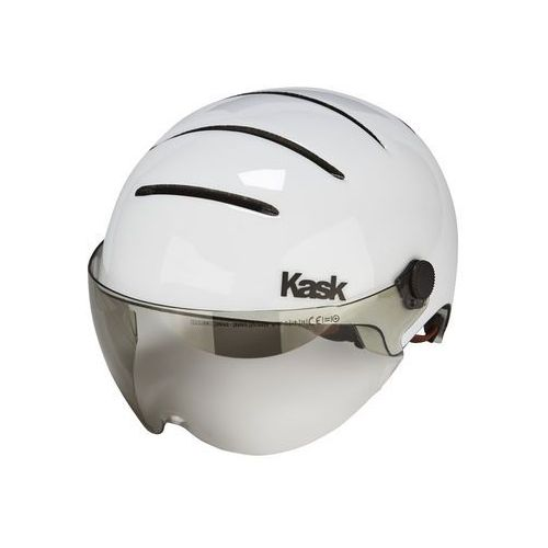 Kask Lifestyle Kask rowerowy dodatkowo wizjer biały 59-62 cm 2018 Kaski miejskie i trekkingowe