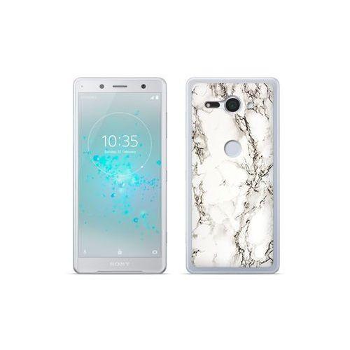 Etuo.pl Etuo fantastic case - sony xperia xz2 compact - etui na telefon fantastic case - biały marmur