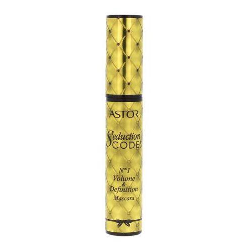 Astor seduction codes pogrubiający tusz do rzęs odcień no. 1 black (volume and definition mascara) 10,5 ml (3607343199643)