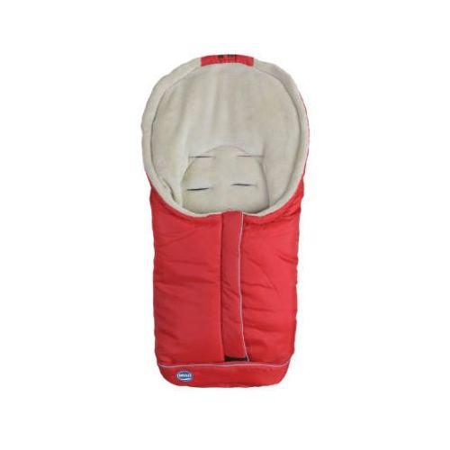 śpiworek na nóźki standart mały czerwony/beźowy marki Urra