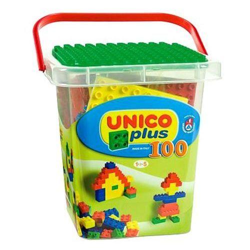 Unico Box z klockami - 100 elementów - BEZPŁATNY ODBIÓR: WROCŁAW!