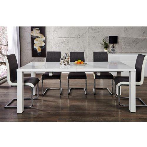 Stół rozkładany Savona 120-200cm - biały rozkładany 120-200cm