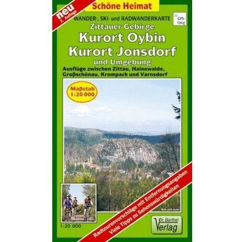 Doktor Barthel Karte Zittauer Gebirge, Kurort Oybin, Kurort Jonsdorf und Umgebung (9783895912009)