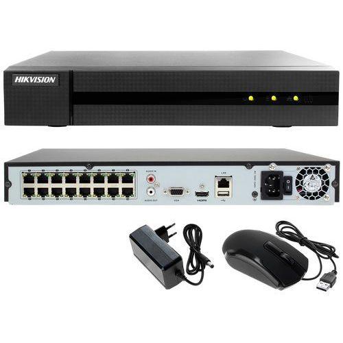 Rejestrator cyfrowy sieciowy IP do monitoringu sklepu, biura HWN-4216MH-16P Hikvision Hiwatch, HWN-4216MH-16P