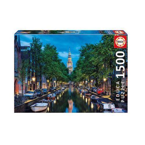 EDUCA 1500 EL. Amsterdam Canal at Dusk (8412668167674)